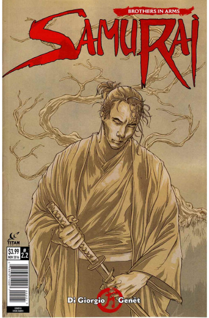 Samurai Brothers In Arms #2 Cover B [Titan Comic]_THUMBNAIL