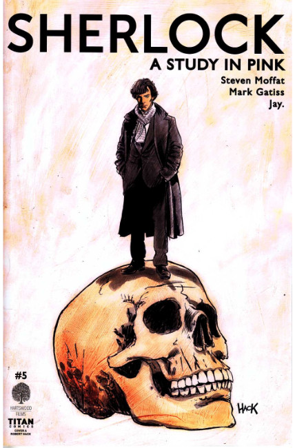 Sherlock a Study In Pink #5 Cover A [Titan Comic] THUMBNAIL