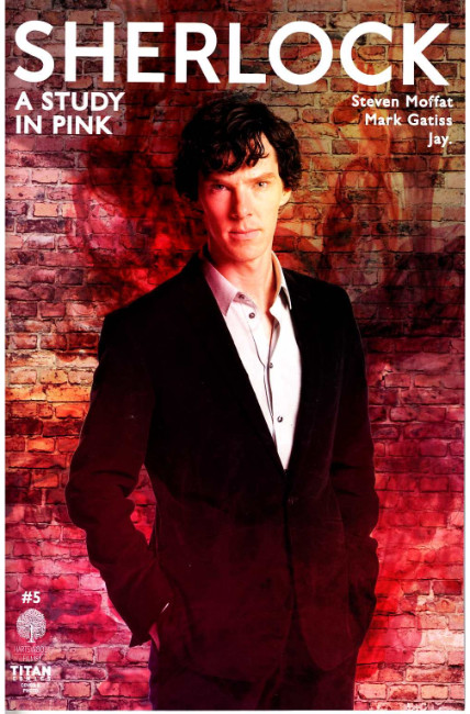 Sherlock a Study In Pink #5 Cover B [Titan Comic] LARGE