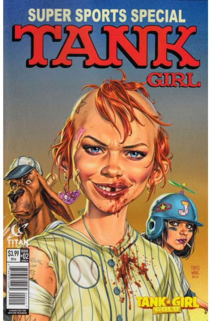 Tank Girl Gold #2 Cover A [Titan Comic] THUMBNAIL