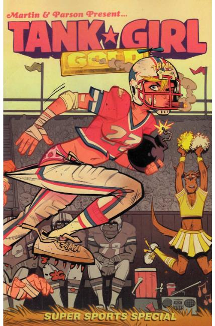 Tank Girl Gold #2 Cover B [Titan Comic] THUMBNAIL