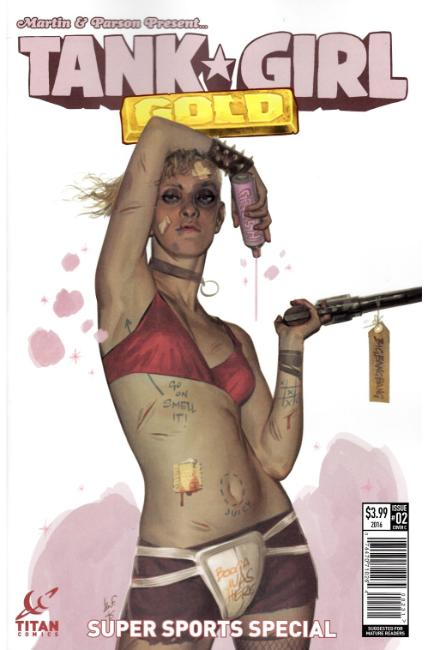 Tank Girl Gold #2 Cover C [Titan Comic] THUMBNAIL