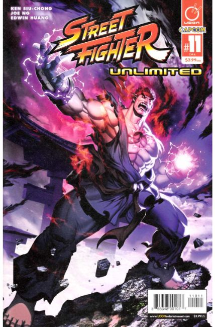 Street Fighter Unlimited #11 Cover A [Udon Comic] THUMBNAIL