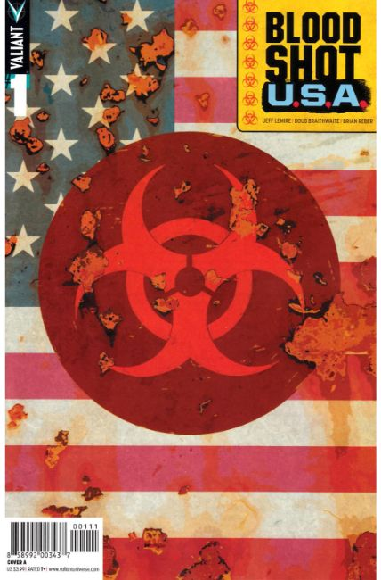 Bloodshot USA #1 Cover A [Valiant Comic] THUMBNAIL