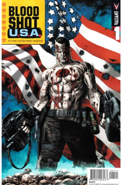 Bloodshot USA #1 Cover B [Valiant Comic] THUMBNAIL
