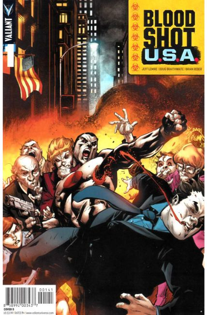 Bloodshot USA #1 Cover D [Valiant Comic] THUMBNAIL