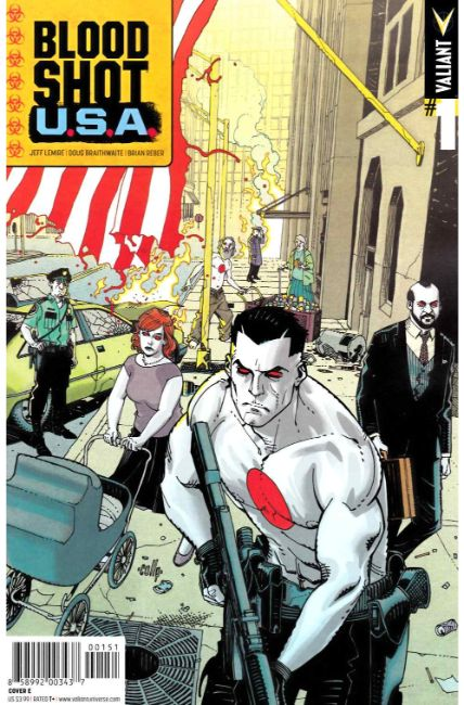 Bloodshot USA #1 Cover E [Valiant Comic] LARGE