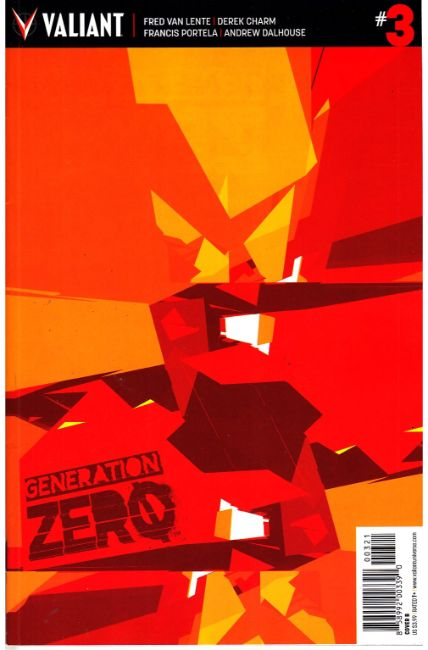 Generation Zero #3 Cover B [Valiant Comic] THUMBNAIL