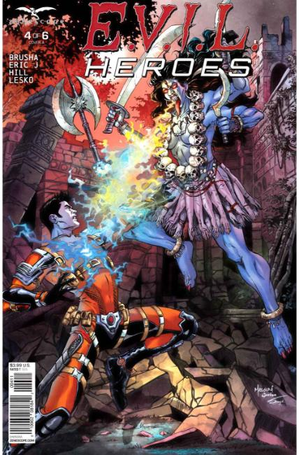Evil Heroes #4 Cover A [Zenescope Comic] THUMBNAIL