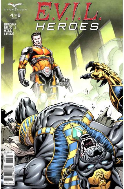 Evil Heroes #4 Cover B [Zenescope Comic] THUMBNAIL
