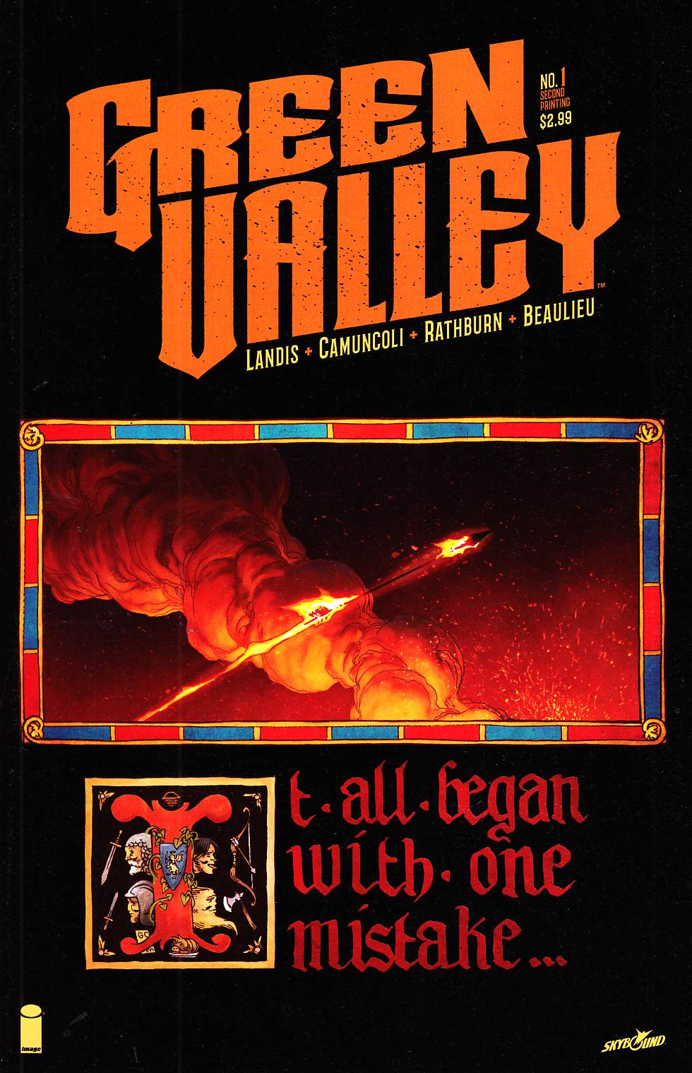Green Valley #1 Second Printing [Image Comic] THUMBNAIL