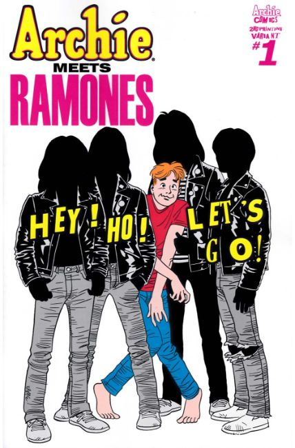 Archie Meets Ramones (One Shot) Second Printing [Archie Comic] THUMBNAIL