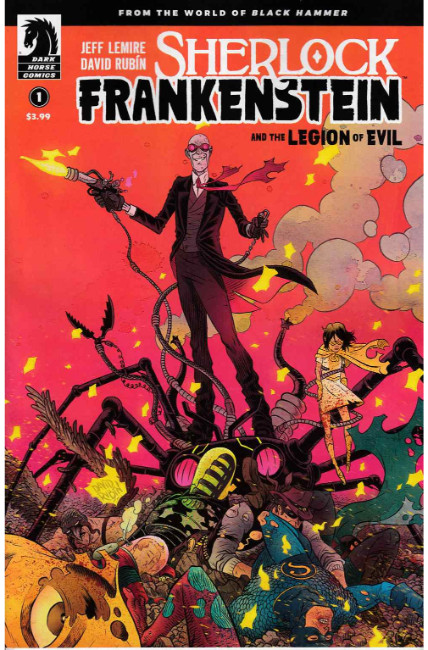 Sherlock Frankenstein & Legion of Evil #1 [Dark Horse Comic] THUMBNAIL