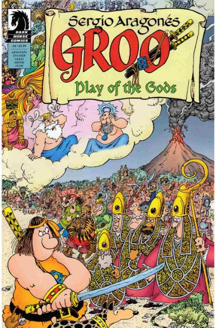 Groo Play of Gods #4 [Dark Horse Comic] THUMBNAIL