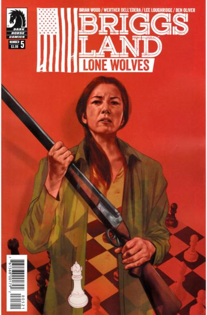 Briggs Land Lone Wolves #5 Oliver Variant Cover [Dark Horse Comic]_THUMBNAIL