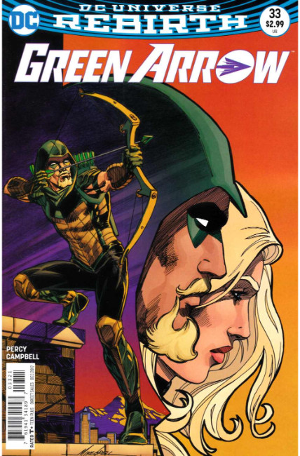 Green Arrow #33 Grell Variant Cover [DC Comic] THUMBNAIL