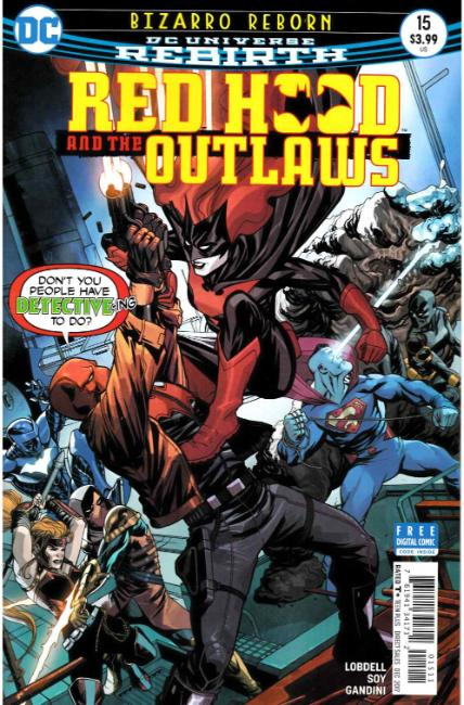 Red Hood and the Outlaws #15 [DC Comic] THUMBNAIL