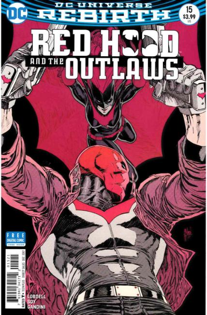 Red Hood and the Outlaws #15 March Variant Cover [DC Comic] THUMBNAIL