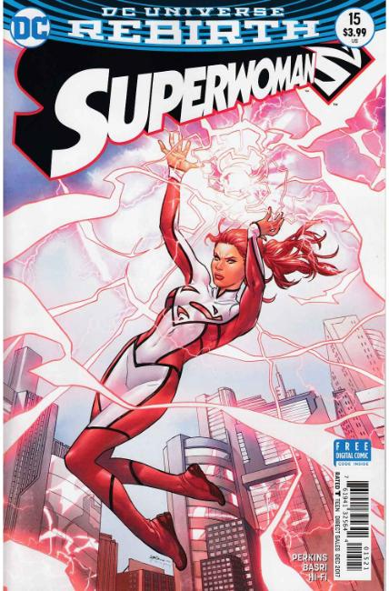 Superwoman #15 Lupacchino Variant Cover [DC Comic] THUMBNAIL