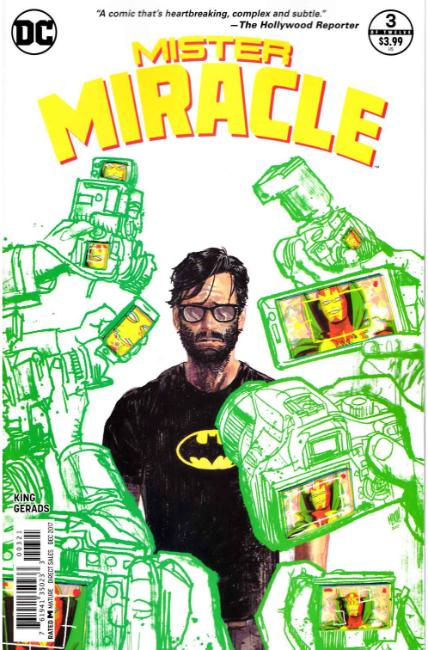 Mister Miracle #3 Gerads Variant Cover Near Mint (9.4) [DC Comic]_THUMBNAIL