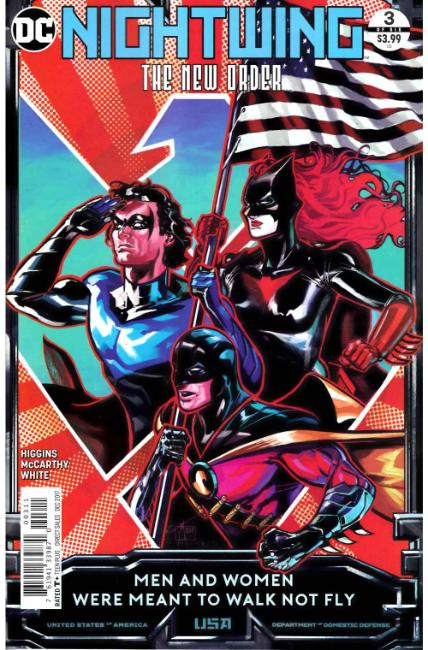 Nightwing The New Order #3 [DC Comic] LARGE