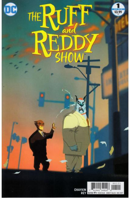 Ruff & Reddy Show #1 Rey Variant Cover [DC Comic] LARGE