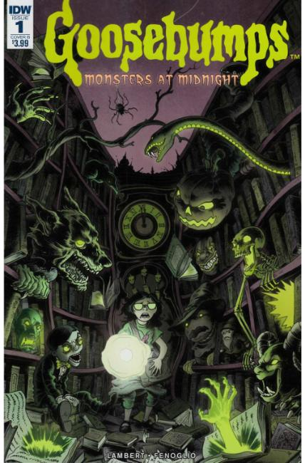 Goosebumps Monsters At Midnight #1 Cover B [IDW Comic]