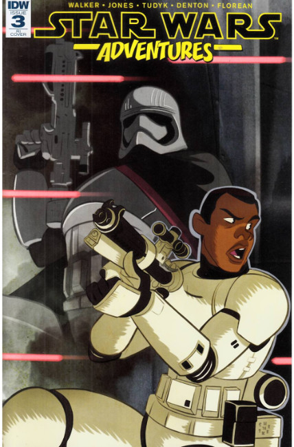 Star Wars Adventures #3 Cover RI [IDW Comic]
