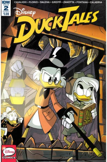 Ducktales #2 Cover A [IDW Comic]