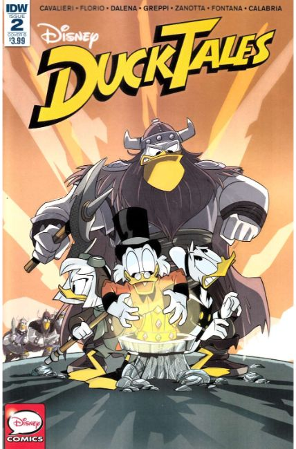 Ducktales #2 Cover B [IDW Comic]