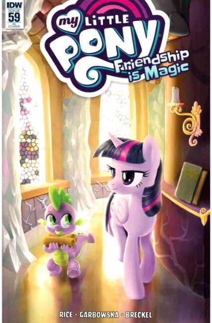 My Little Pony Friendship Is Magic #59 Cover RI [IDW Comic] LARGE