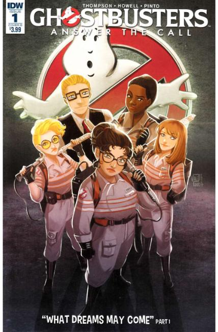 Ghostbusters Answer the Call #1 Cover B [IDW Comic] THUMBNAIL