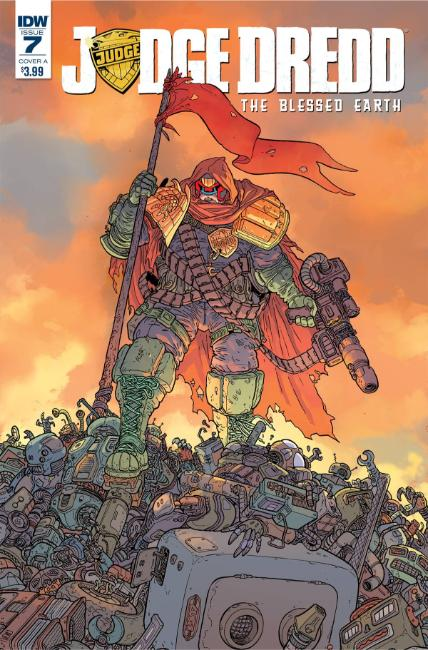 Judge Dredd Blessed Earth #7 Cover A [IDW Comic]