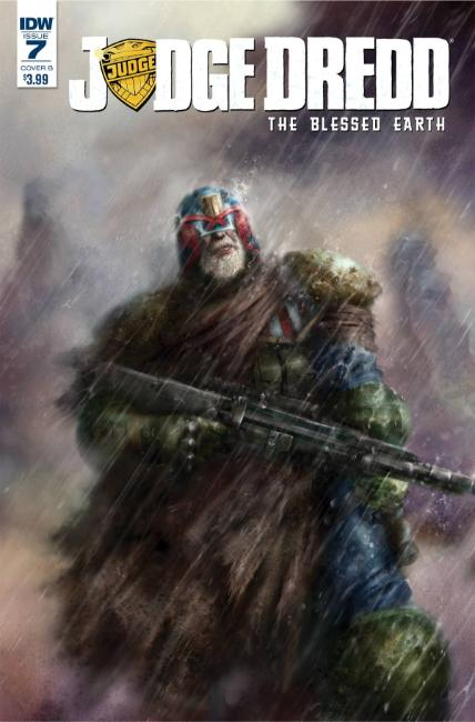 Judge Dredd Blessed Earth #7 Cover B [IDW Comic]