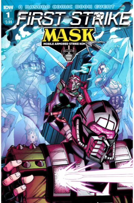 MASK First Strike #1 Cover A [IDW Comic] THUMBNAIL