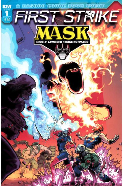 MASK First Strike #1 Cover B [IDW Comic] THUMBNAIL
