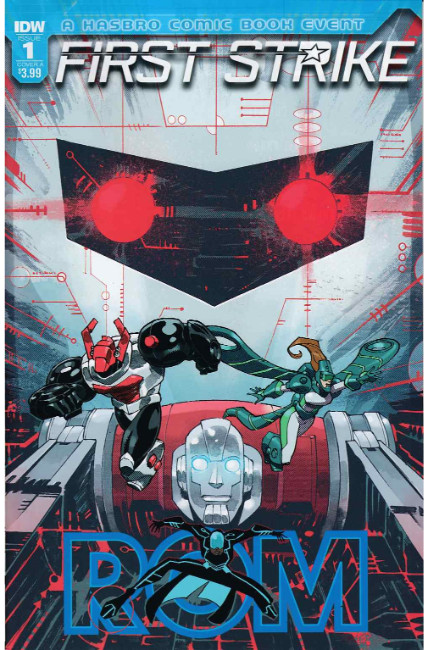 Rom First Strike #1 Cover A [IDW Comic] THUMBNAIL