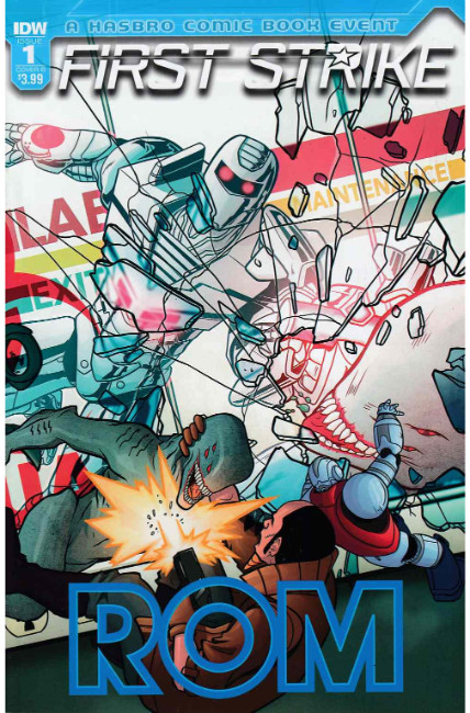 Rom First Strike #1 Cover B [IDW Comic] THUMBNAIL