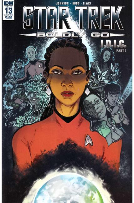 Star Trek Boldly Go #13 Cover B [IDW Comic] LARGE