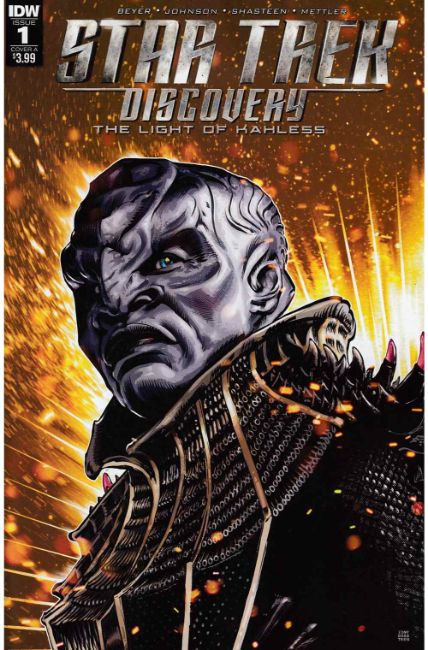 Star Trek Discovery #1 Cover A [IDW Comic] THUMBNAIL