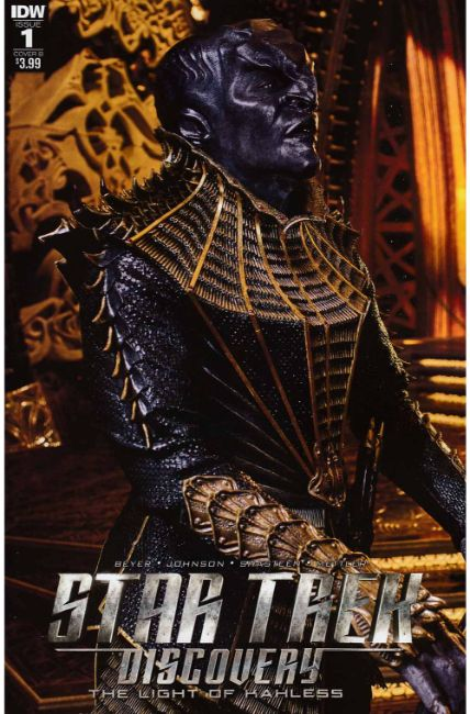 Star Trek Discovery #1 Cover B [IDW Comic] THUMBNAIL
