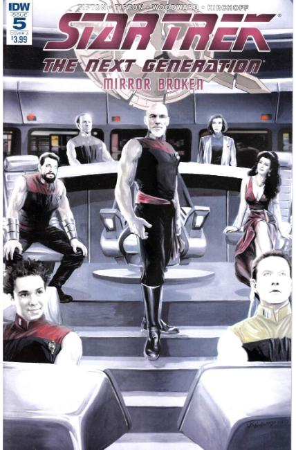 Star Trek TNG Mirror Broken #5 Cover A [IDW Comic] THUMBNAIL