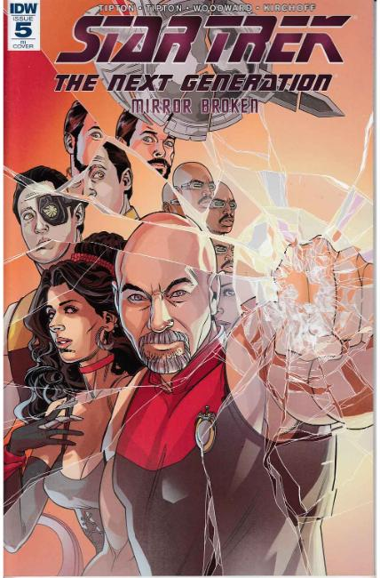 Star Trek TNG Mirror Broken #5 Cover RI [IDW Comic] THUMBNAIL