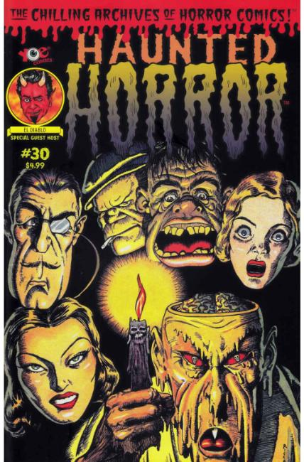 Haunted Horror #30 [IDW Comic] LARGE