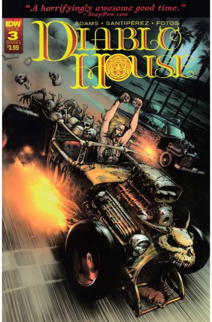 Diablo House #3 Cover A [IDW Comic] THUMBNAIL