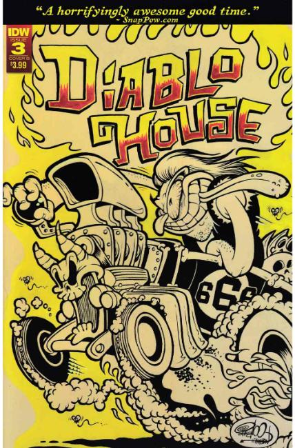 Diablo House #3 Cover B [IDW Comic] THUMBNAIL