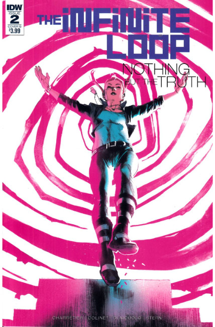 Infinite Loop Nothing But the Truth #2 Cover B [IDW Comic]_THUMBNAIL