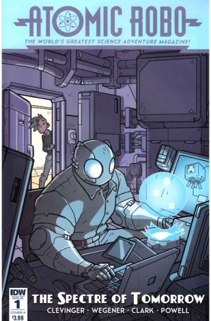 Atomic Robo Spectre of Tomorrow #1 Cover A [IDW Comic] THUMBNAIL