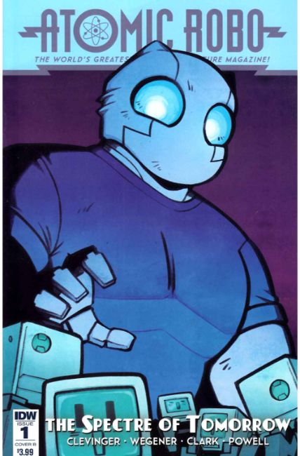 Atomic Robo Spectre of Tomorrow #1 Cover B [IDW Comic] THUMBNAIL
