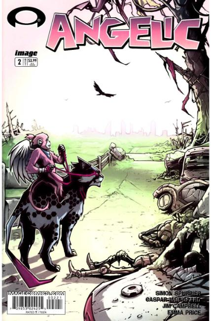 Angelic #2 Cover B- Walking Dead #2 Tribute Cover [Image Comic] THUMBNAIL